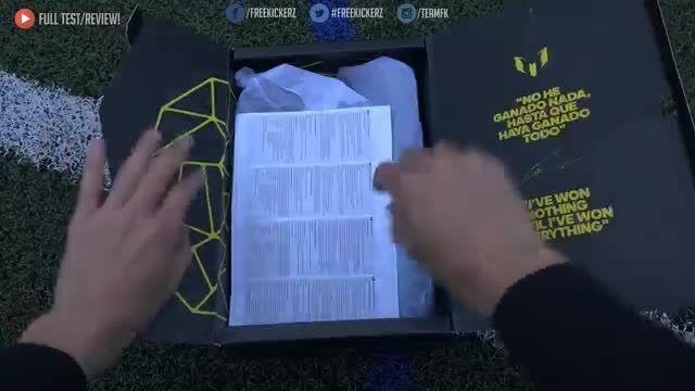 ♚ تست کفش های جدید لیونل مسی | Adidas Messi 15.1 ♚
