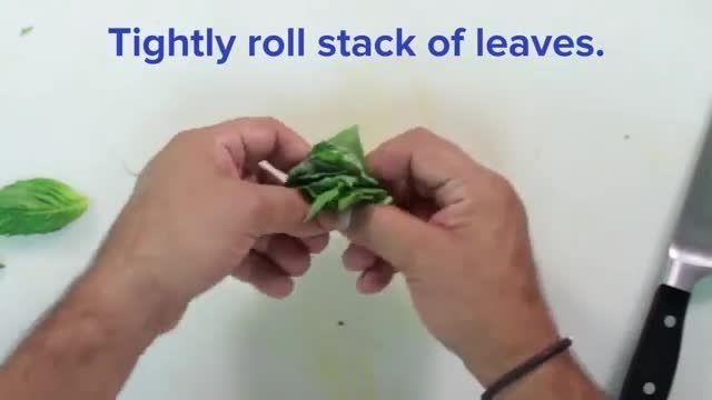 6 ترفند استفاده از چاقو برای خرد کردن