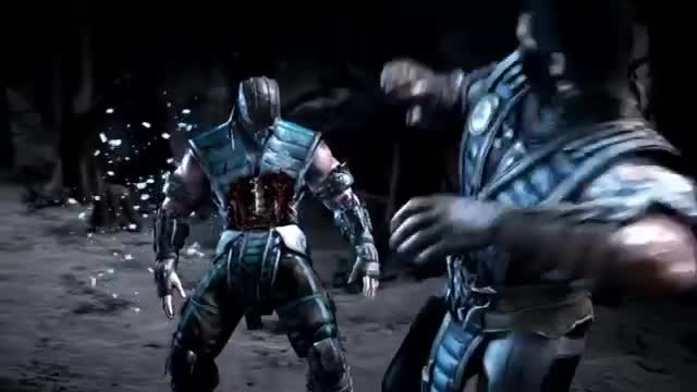 MKX Fight - Johnny Cage vs SubZero