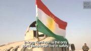 درگیری های سنگین پیشمرگه های کردستان عراق با داعش