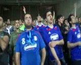 در خواست حمله هواداران از تیم داماش در ورزشگاه ازادی تهران
