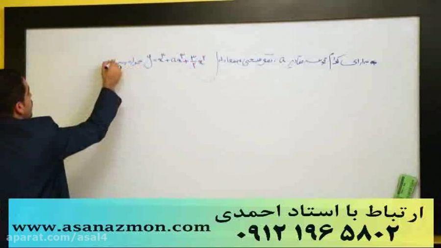 جدیدترین تدریس مهندس مسعودی کنکور (مشتق3) کنکوری 13