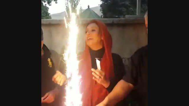جشن تولد 47 سالگی نسرین مقانلو