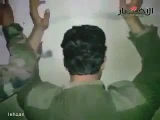جنایت داعش - اعدام 4 سرباز سوری