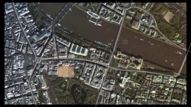تصاویر ماهواره ای از لندن