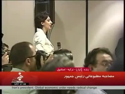 سوال خبرنگار بی بی سی و جواب محمود احمدی نژاد