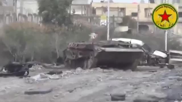 درگیری خیابانی و نزدیک YPG و سلفی ها