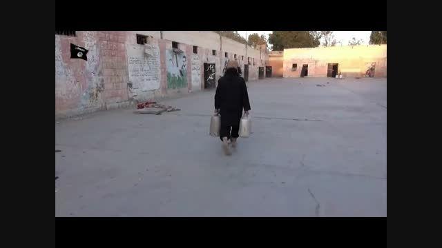 منفجر کردن زندان تدمر بوسیله داعش /سوریه