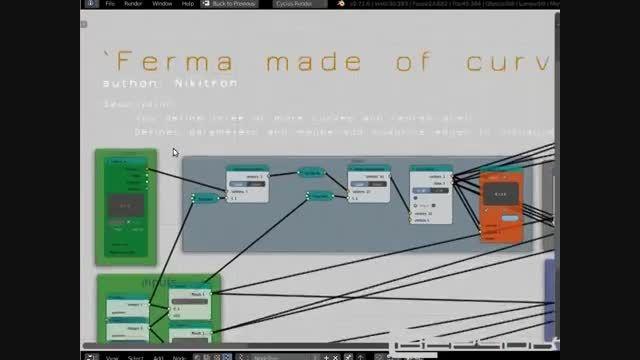 آشنایی با Sverchok  و کاربردهای آن در Blender