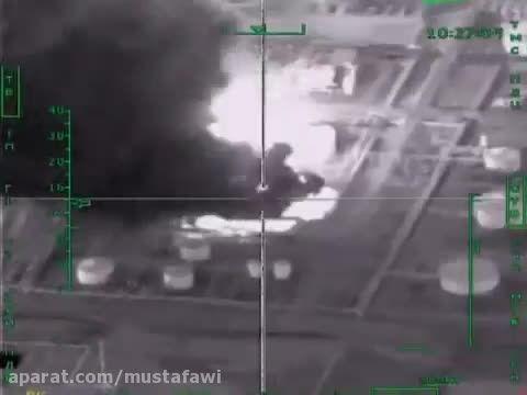 بمباران نفت کش ها و منابع مالی داعش توسط روسیه2