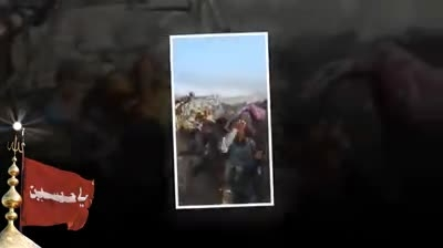 لحظه شهادت علی منیعات مدافع حرم