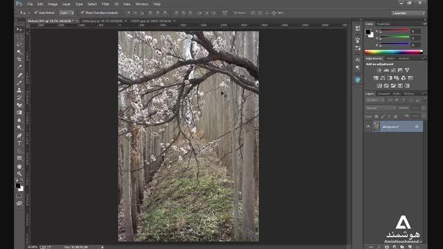 آموزش ایجاد افکت جذاب عکاسی روی تصاویر