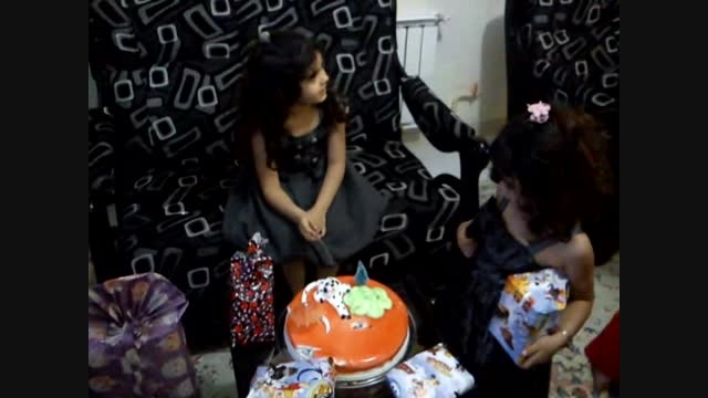 جشن تولد هلیا