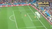 پنالتی مشکوک فلار در بازی با آرژانتین از زاویه ای دیگر