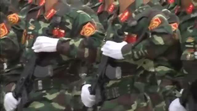 رژه ارتش ویتنام در 70 سال پیروزی جنگ جهانی دوم