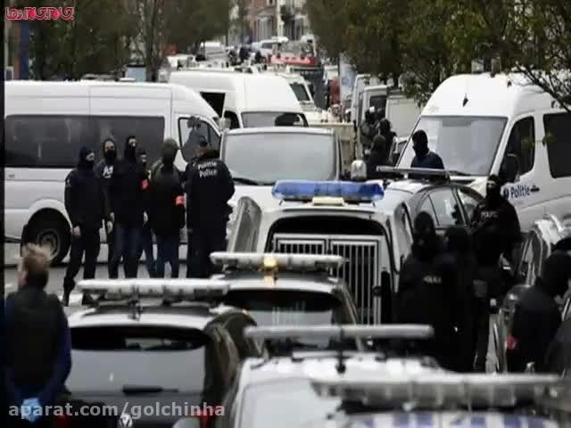 دستگیری یکی عوامل حملات تروریستی پاریس فیلم گلچین صفاسا
