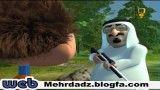 کارتون پادشاه عربستان در تلوزیون ایران
