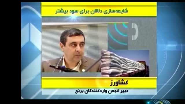 شایعه سازی دلالان برای بزخری برنج ایرانی