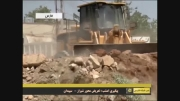 بازدید فرماندار از عملیات تعریض محور غرب شیراز