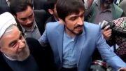 ورود دکتر حسن روحانی به جماران