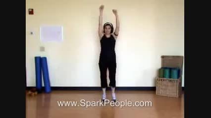 حرکات ورزشی مناسب برای تناسب اندام در یک هفته ..