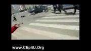 تصادف آمبولانس با مردم !!!!!!!!!!!!!