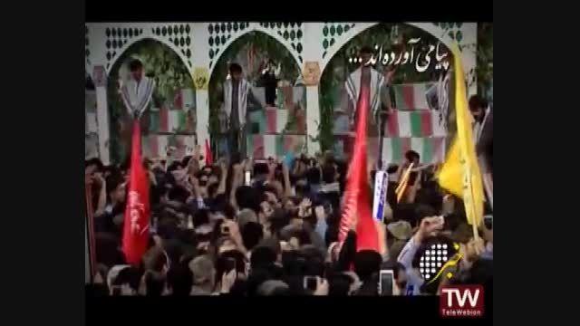 تشییع پیکر مطهر 175 شهید غواص و 95 شهید گمنام