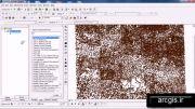 آموزش ساخت خطوط توپوگرافی از طریق استفاده از نقاط ارتفاعی