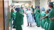 رقصیدن بیمار سرطانی تا اتاق عمل!!!