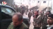 سوریه:1392/11/05:نبرد نیروهای ارتش سوریه در منطقه القدم-دمشق