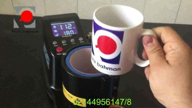 دستگاه چاپ لیوان پنوماتیک چاپ روی لیوان بصورت اتوماتیک