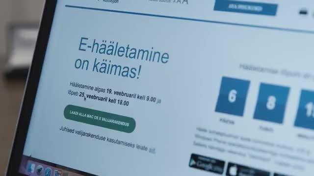 رأی دادن الکترونیکی در کمتر از یک دقیقه در استونی