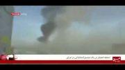 لحظه انفجار در یک تجمع انتخاباتی در عراق