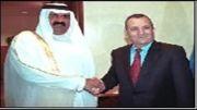 حاکمان و پادشاهان عرب در کنار رئیس جمهور اسرائیل و امریکا