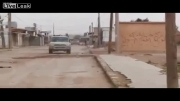 انهدام خودروی با سلاح سلفی ان سوری