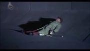 "سکانسی از فیلم ""پرتقال کوکی"" ساخته ""استنلی کوبریک"""