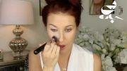کلیپ آموزش آرایش صورت  و میکاپ مخصوص محیط کاری