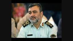 توضیحات رئیس پلیس ناجا درباره تجمع تبریز به خاطر فیتیله