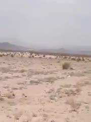 لحظه سقوط هواپیمای مسافربری در ایران