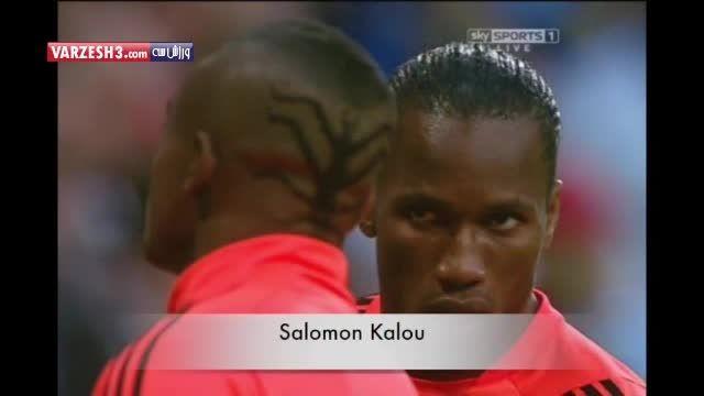 مدل موهای عجیب فوتبالیست ها