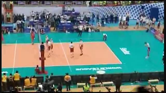 آخرین امتیاز بازی ایران - لهستان