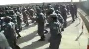 آموزش نیروهای افغانی توسط ارتش آمریکا