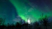 تصاویری منحصر به فرد از شفق قطبی