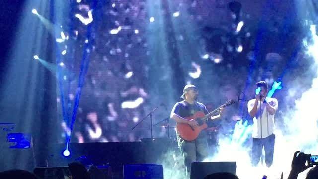 سیروان خسروی، اجرای زنده بارون پاییزی