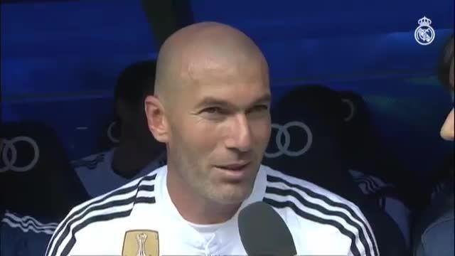 مصاحبه با اسطوره های رئال مادرید VS لیورپول