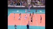 خلاصه ست اول والیبال ایران و ایتالیا (بازی برگشت - لیگ جهانی)