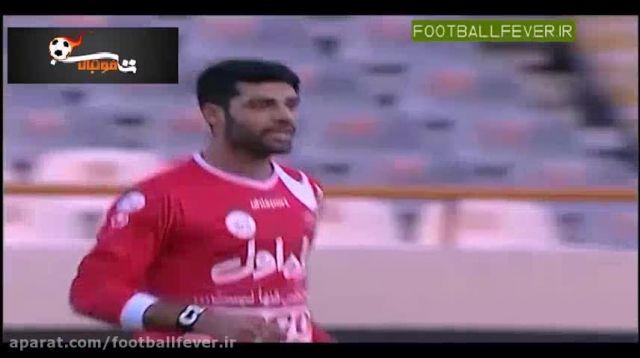 خلاصه بازی پرسپولیس 1 - استقلال اهواز 0
