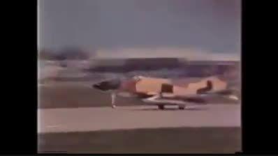 تحویل فانتوم F-4D به ایران سال 1347