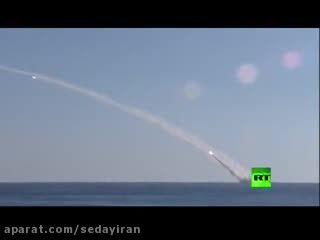 شلیک موشک از زیردریایی روسیه به سمت داعش