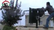 اصابت گلوله به سر تروریست در سوریه +18